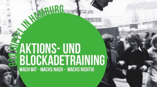 NoG20-Aktionstraining in Wien