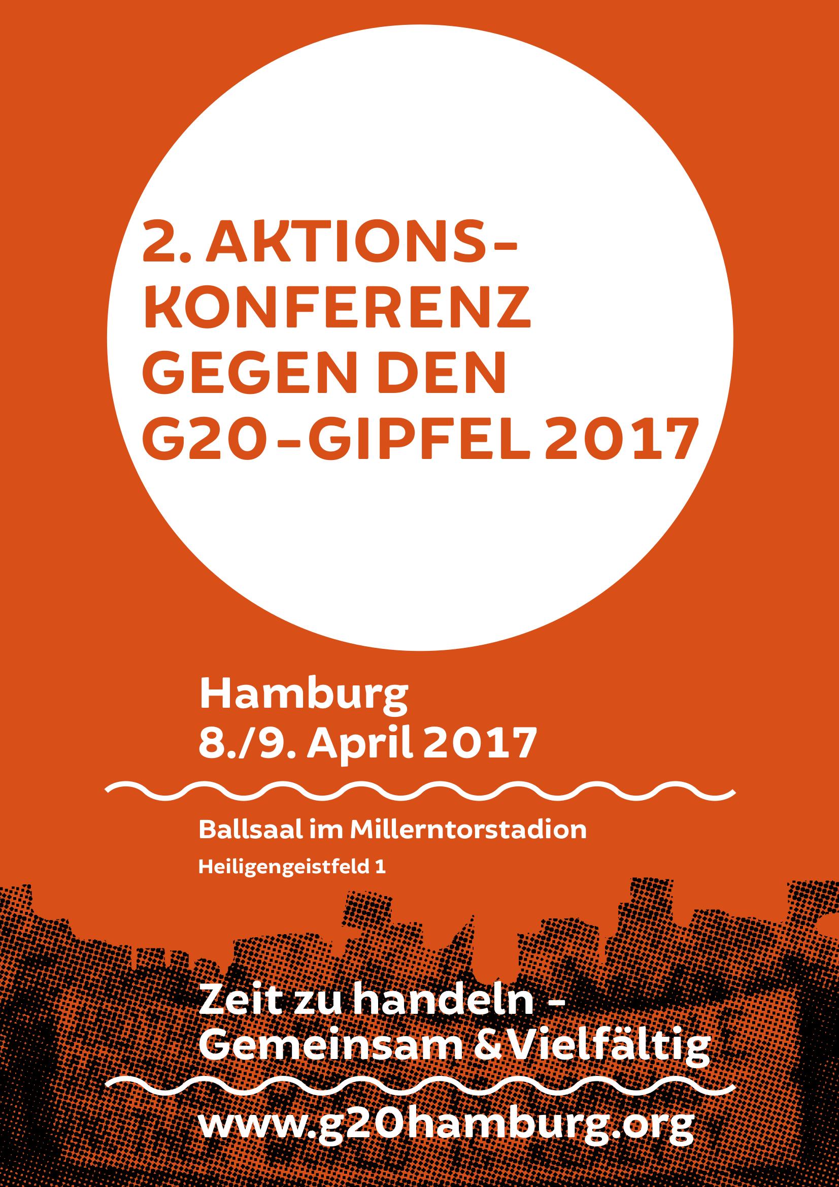 NO G20 Aktionskonferenz II in Hamburg