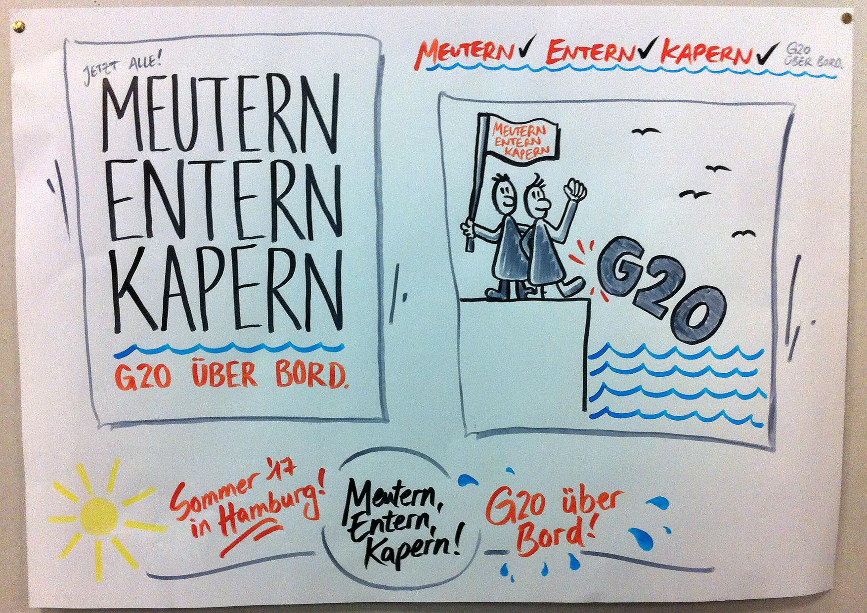 G20 Aktionskonferenz in Hamburg