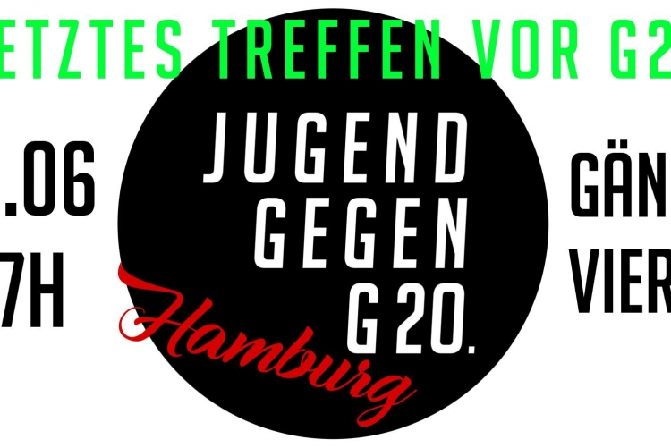 Jugend Gegen G20 - Jugendrat Hamburg Offenes Treffen