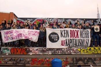 Jugend gegen den G20-Gipfel im Juli 2017 in Hamburg