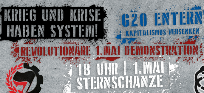 Hamburg: Revolutionäre 1. Mai-Demo